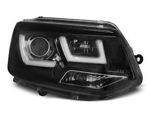 【送料無料】模型車 モデルカー スポーツカー ブラックデイタイムランニングランプヘッドライトneu scheinwerfer led mit tagfahrlicht fr vw t5 20102015 schwarz sv lpvwl2er x