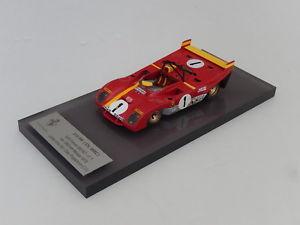 【送料無料】模型車 モデルカー スポーツカー フェラーリモンツァヒロ143 tameo built by alberca ferrari 312 pb winner monza 1972  n amr hiro