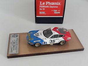 【送料無料】模型車 モデルカー スポーツカー フェラーリデイトナルマン143 amr lephoenix ferrari daytona griv carrefour le mans 1972  no m111 bosica