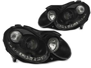 【送料無料】模型車 モデルカー スポーツカー проекторфарыメルセデスчерныйпроектор фары drl look daylight led mercedes clk w209 0310 черный ch lpmea6e1 x