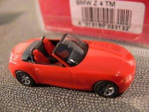 【送料無料】模型車 モデルカー スポーツカー ドアハッチバック187 herpa bmw z4 cabrio 3trig rot 023122
