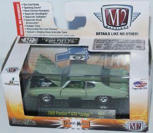 【送料無料】模型車 モデルカー スポーツカー マシンデトロイトポンティアックm2 machines detroit muscle 1969 pontiac gto judge 164 1606