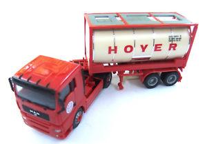 【送料無料】模型車 モデルカー スポーツカー トラックホ#herpa man lkw hoyer ho 187 4319