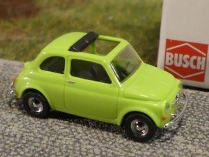 【送料無料】模型車 モデルカー スポーツカー ブッシュフィアットグリーン187 busch fiat 500 grn 48723