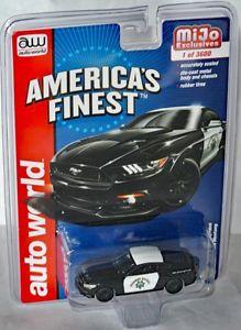 流行 【送料無料】模型車 モデルカー スポーツカー americas アメリカフォードムスタングハイウェイパトロールmijo autoworld mustang* americas finest 2017 ford mustang* highway patrol* 164, インテリア雑貨の『にくらす』:a33f5418 --- wrapchic.in