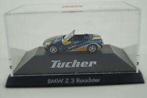 【送料無料】模型車 モデルカー スポーツカー モデルカーロードスターウエスherpa modellauto 187 h0 bmw z3 roadster tucher