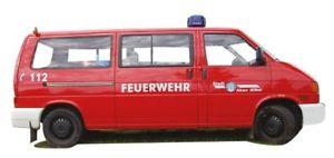 【送料無料】模型車 モデルカー スポーツカー エルベawm vw t4 lr feuerwehr akenelbe