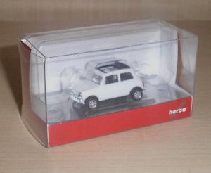 【送料無料】模型車 モデルカー スポーツカー ミニクーパーmini cooper wei in 187 v herpa 028592