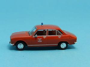 【送料無料】模型車 モデルカー スポーツカー プジョーフランスbrekina 29109 peugeot 504 feuerwehr frankreich 187