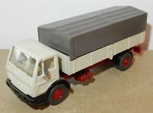 【送料無料】模型車 モデルカー スポーツカー ホメルセデスハーモニーブルックスwiking ho 187 camion mb mercedes lp 1017 gris bache gris fonce