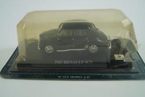 【送料無料】模型車 モデルカー スポーツカー プラドモデルカールノーdel prado modellauto 143 renault 4cv 1947 *in ovp*