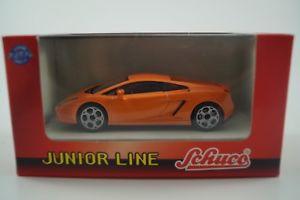 【送料無料】模型車 モデルカー スポーツカー ジュニアラインモデルカーランボルギーニschuco junior line modellauto 143 lamborghini galardo nr 27219