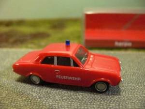 【送料無料】模型車 モデルカー スポーツカー フォード187 herpa ford taunus 17m feuerwehr 044776
