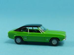【送料無料】模型車 モデルカー スポーツカー フォードカプリwiking 082107 ford capri i grn 187