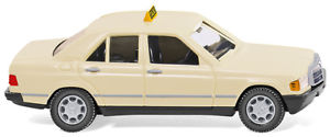 【送料無料】模型車 モデルカー スポーツカー タクシーwiking pkw mb 190 d taxi 019423