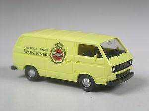【送料無料】模型車 モデルカー スポーツカー トップモデルボックスビールtop wiking werbemodell vw t3 kasten warsteiner bier
