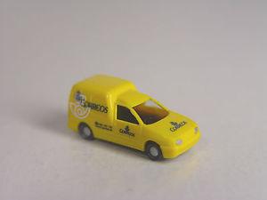 【送料無料】模型車 モデルカー スポーツカー スペインキャディトラックモデルpost correos spanien vw caddy rietze spur n 1160  modell 16981 e