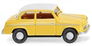 【送料無料】模型車 モデルカー スポーツカー ロイドアレクサンダーイエロー187 wiking lloyd alexander ts gelb mit weiem dach 0806 36