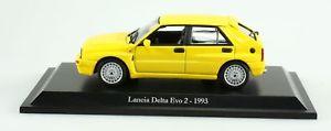 【送料無料】模型車 モデルカー スポーツカー コレクターミニチュアランチアvoiture civile auto collector miniature lancia delta evo 2 1993 143