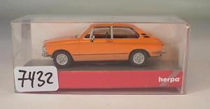 【送料無料】模型車 モデルカー スポーツカー クーペオレンジherpa 187 nr 023511 bmw 2002 tii coupe orange ovp 7432