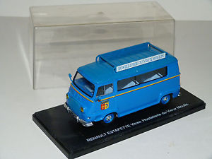 【送料無料】模型車 モデルカー スポーツカー ルノーミニバスオステルリーデュヴュームーランrenault estafette minibus hostellerie du vieuxmoulin 143 neuve en boite