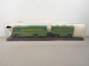 【送料無料】模型車 モデルカー スポーツカー ミュンヘントレーラーbrekina man 635 schenker mnchen hngerzug *vi428120