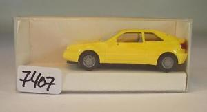 【送料無料】模型車 モデルカー スポーツカー モデルフォルクスワーゲンフォルクスワーゲンクーペ#herpa 187 nr werbemodell vw volkswagen corado coupe gelb ovp 7407