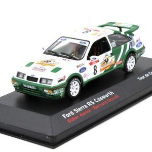 【送料無料】模型車 モデルカー スポーツカー フォードシエラコスワースネットワークネットワークツールドコルスixoixo ford sierra rs cosworth tour de corse 1988 143