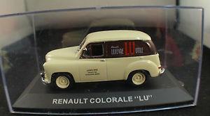 【送料無料】模型車 モデルカー スポーツカー ルノーkiosque renault colorale lu 143 en bote boxed