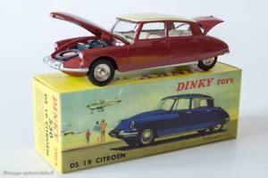 【送料無料】模型車 モデルカー スポーツカー アトラススケールdinky toys 530 citron ds 19 atlas redwhite roof 143 scale metal modelcar