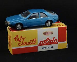 【送料無料】模型車 モデルカー スポーツカー ルノーアシェットsolido 1203 renault fuego rdition hachette jamais jou en boite 143 mib
