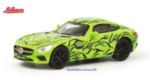 【送料無料】模型車 モデルカー スポーツカー メルセデスグアテマラスケールschuco 26343 mercedes amg gt *erlknig* neu amp; ovp mastab 187