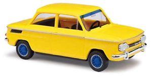 【送料無料】模型車 モデルカー スポーツカー トラックイエローbusch 48415 spur tt nsu 1000 tt, gelb neu in ovp