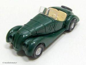 【送料無料】模型車 モデルカー スポーツカー wiking bmw 328 cabrio in grn 187