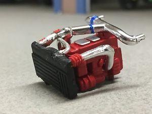 【送料無料】模型車 モデルカー スポーツカー エンジン164 dcp red motor