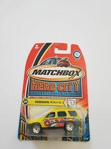 【送料無料】模型車 モデルカー スポーツカー エクステラ#イエローマッチシールドmatchbox スポーツカー sealed moc モデルカー nissan sealed xterra 39 yellow 2003 hero city, 名田庄村:37d407de --- loveszsator.hu