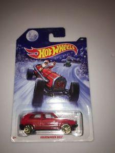 【送料無料】模型車 モデルカー スポーツカー ホットホイールホットロッドクリスマス#フォルクスワーゲンゴルフ2014 hot wheels holiday hot rods christmas 8 volkswagen golf