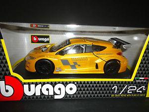 【送料無料】模型車 モデルカー スポーツカー スポーツカー ルノーメガーヌトロフィーイエローbburago モデルカー renault megane trophy yellow megane 124, MDNマドンナ:f54c52da --- loveszsator.hu