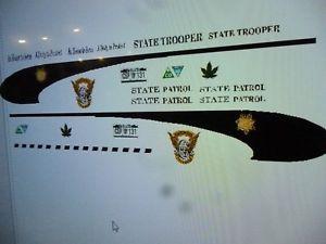 【送料無料】模型車 モデルカー custom スポーツカー コロラドハイウェイパトロールデカールカスタムcolorado patrol state highway patrol state trooper decals 124 custom, dai dai market:67da72bb --- loveszsator.hu