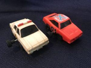 【送料無料 1980's hazzard】模型車 モデルカー スポーツカー ビンテージデュークスゼンマイvintage cars dukes of hazzard general lee amp; sheriff windup cars 1980's, インバムラ:99a0a42b --- loveszsator.hu