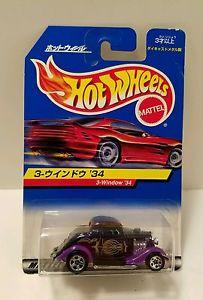 【送料無料】模型車 モデルカー モデルカー rod スポーツカー ホットホイールウィンドウフォードホットロッドhot ford wheels 3window 1934 ford international market purple hot rod, レンズピット!:c256e506 --- loveszsator.hu