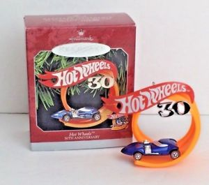 【送料無料】模型車 モデルカー スポーツカー ホットホイールビンテージvintage hot wheels hallmark 1997 keepsake ornament 30th anniversary