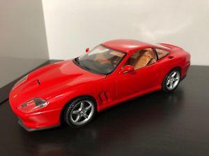 【送料無料】模型車 モデルカー スポーツカー フェラーリマラネロスケールモデルカーmaisto ferrari 550 maranello 118 scale model car