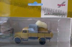 【送料無料】模型車 モデルカー スポーツカー メルセデスフィールドキッチンピックアップトラックherpa military 187 mercedes b pritschenlkw mit feldkche, ladung plane 745017