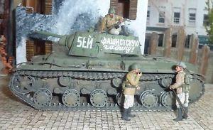 【送料無料】模型車 モデルカー スポーツカー ソビエト135 wwii soviet kv1b heavy tank professionally built