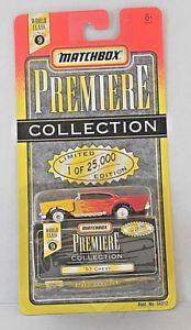 【送料無料】模型車 モデルカー スポーツカー マッチプレミアコレクションシボレークラスシリーズmatchbox premiere collection  57 chevy select class 9 series limited edition