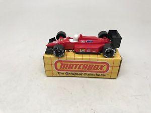 【送料無料】模型車 モデルカー スポーツカー マッチグランプリレースカーレッドボックスmatchboxmb74grand prix racing carredwith box
