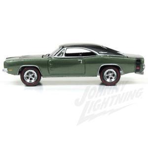 【送料無料 lightning】模型車 モデルカー スポーツカー ジョニーシリーズ164 1969 johnny rt lightning muscle series 3 2d 1969 dodge charger rt in medium green, ひまわり(介護用品専門店):21c3fc2e --- loveszsator.hu