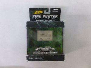 【送料無料】模型車 モデルカー スポーツカー ジョニーピューターコレクションコルベットルマンjohnny lightning fine pewter collection corvette lemans