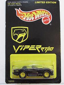 【送料無料】模型車 モデルカー スポーツカー ホットホイールダッジバイパーhot wheels 1997 limited edition dodge viper rt10